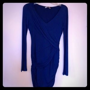 Sexy blue dress bcbg